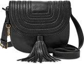 Fossil Leather Emi Saddle Bag