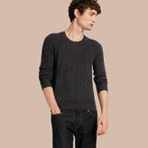 Burberry Aran Knit Cashmere Sweater