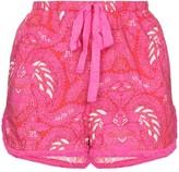 Figue Pascal batik print shorts