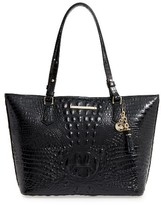 Brahmin 'Medium Asher' Leather Tote - Black