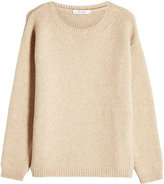 Max Mara Pullover with Wool and Camel Hair