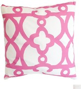 The Well Appointed House Dana Gibson Pink Ming Square Pillow