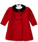 Ralph Lauren Cable Wool-Blend Sweater Coat