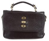 Mulberry Pebbled Bryn Bag