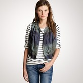 J.Crew Ikat gathered vest