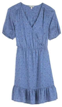 Lucky Brand Dot-Print Mila Wrap Dress
