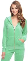 Juicy Couture Outlet - J BLING RELAXED VELOUR JACKET