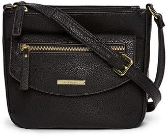 Liz Claiborne Double Zip Crossbody Bag