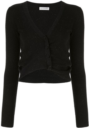 Altuzarra Ruched Cropped Cardigan