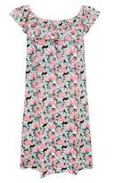 Select Fashion Fashion Womens Multi Floral Frill Gypsy Dress - Sizes 6 To 20 - size 10