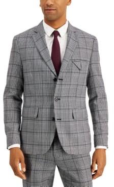 INC International Concepts Inc Men's Carter Slim-Fit Plaid Blazer, Created for Macy's