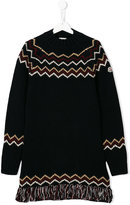 Moncler teen long sleeve knitted sweater