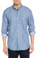 Tommy Bahama Men's Big & Tall Cabana Stripe Sport Shirt