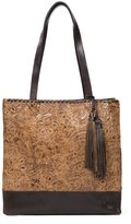Patricia Nash Glazed Floral Collection Toscano Tasseled Tote