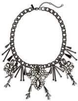 Topshop Black Magic Collar Necklace