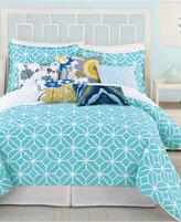 Trina Turk Trellis Turquoise King Comforter Set