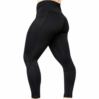 Cocila Women's Solid Stretchy Slimming Workout Leggings Fitness Sports Gym Running Yoga Athletic Pants Tights(XL