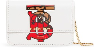 Burberry Monogram Motif Card Case