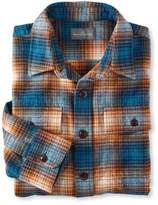 L.L. Bean L.L.Bean Signature 1933 Chamois Cloth Shirt, Slim Fit Plaid