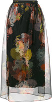 Dries Van Noten Shiller floral print skirt