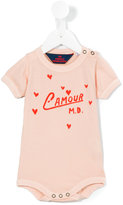 The Animals Observatory - L'amour print body - kids - Cotton - 6 mth