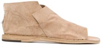 Officine Creative Itaca/005 zipped sandals