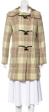 Burberry Knee-Length Wool Coat