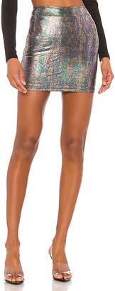 superdown Lisa Fitted Mini Skirt