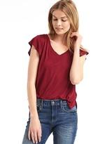 Gap Drapey short sleeve V-neck tee