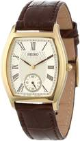 Seiko Men's SRK008 Brown Leather Strap Watch