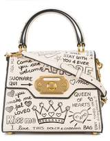 Dolce & Gabbana Dolce E Gabbana Women's Beige/white Leather Handbag.