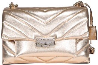 MICHAEL Michael Kors Cece Quilted Metallic Shoulder Bag