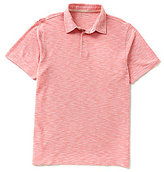 Roundtree & Yorke Short-Sleeve Solid Slub Polo Shirt