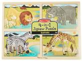 Melissa & Doug Safari 4-in-1 Puzzle