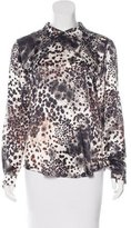 Mulberry Silk Printed Blouse