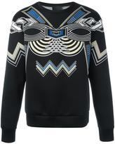 Les Hommes printed sweatshirt
