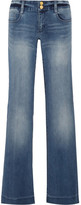 MICHAEL Michael Kors Mid-rise Flared Jeans - Blue