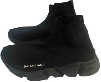 Balenciaga Speed Black Cloth Trainers