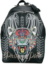 Philipp Plein Notes backpack - men - Polyester/Polyurethane/metal - One Size