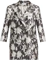 Osman Adele floral and bug-brocade jacket