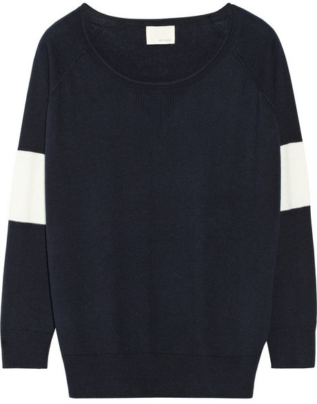 Band Of Outsiders Merino wool and cotton-blend sweater
