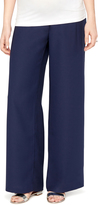 A Pea in the Pod Secret Fit Belly Crepe Slim Leg Maternity Pants