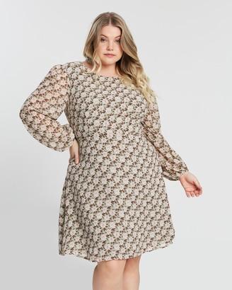 Atmos & Here Carley Sleeved Mini Dress