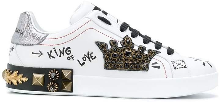 Dolce & Gabbana king of love sneakers