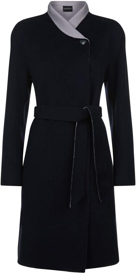 Emporio Armani Belted Coat
