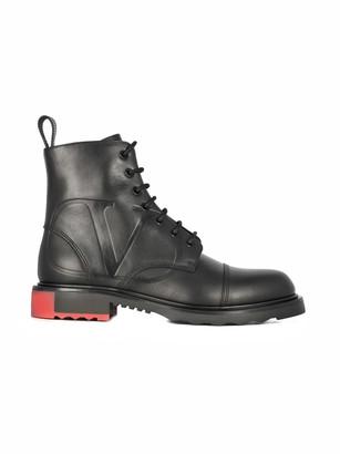Valentino Combat Boots