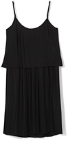 Vince Camuto Pleated Popover Dress