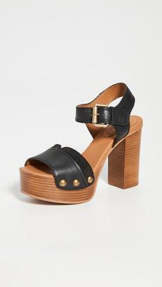 See by Chloe Saya Tall Clog Sandals