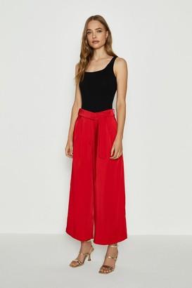 Coast Tie Belt Wide Leg Trousers