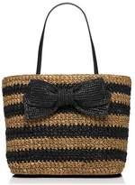Kate Spade Rollins Street Laure Straw Handbag Tote Bag
